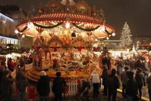 Dresden's Christmas Market Open
