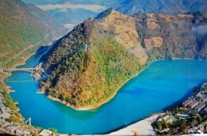 The-High-Gorge-and-100-Miles-Long-Lake-Scenic-Zone-of-the-Lancang-Mekong-River-in-Lincang