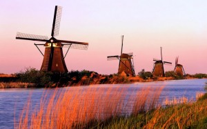 Kinderdijk-South-Holland-Netherlands