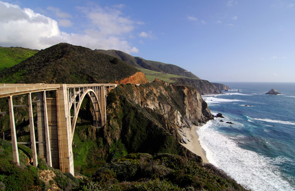 Bixby Bridge on the Big Sur Coast of California