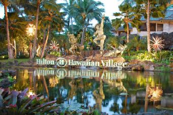 Hilton Hawaiian Village sign