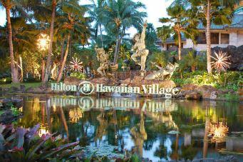 Hilton Hawaiian Village sign
