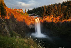 snoqualmie-falls-white-flowers-front-sunset-one-washingtons-most-popular-scenic-attractions-slow-shutter-speed-42420498 - Copy