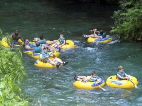 White River Tubing, Ocho Rios, Jamaica