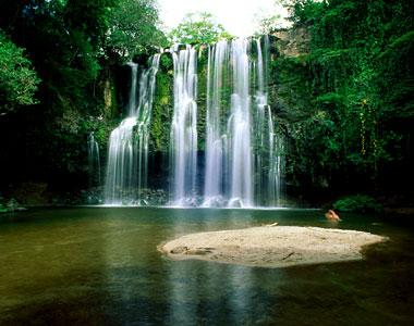 Lomas de Barbudel Waterfalls, Lomas de Barbudel Biological Reserve