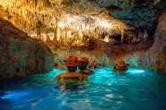 Playa-del-Carmen-Xplor-Adventure-Park-swimming-in-underground-river-620x413